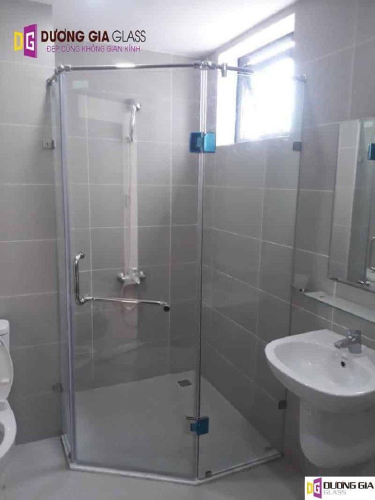 Cabin phòng tắm kính 135 độ mẫu 4