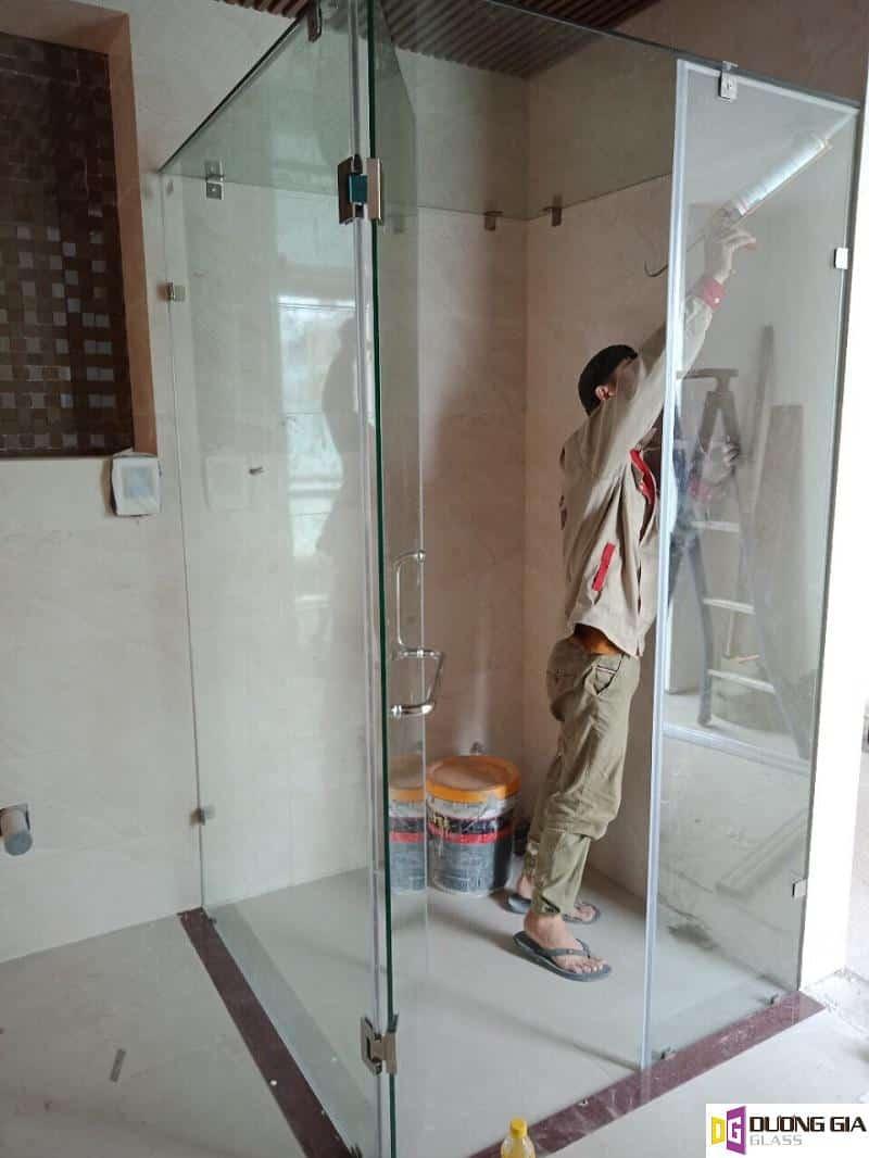 Cabin phòng tắm kính mẫu 6