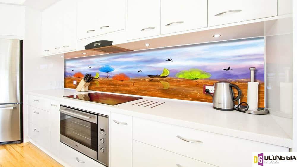Kính ốp bếp 3D mẫu 12