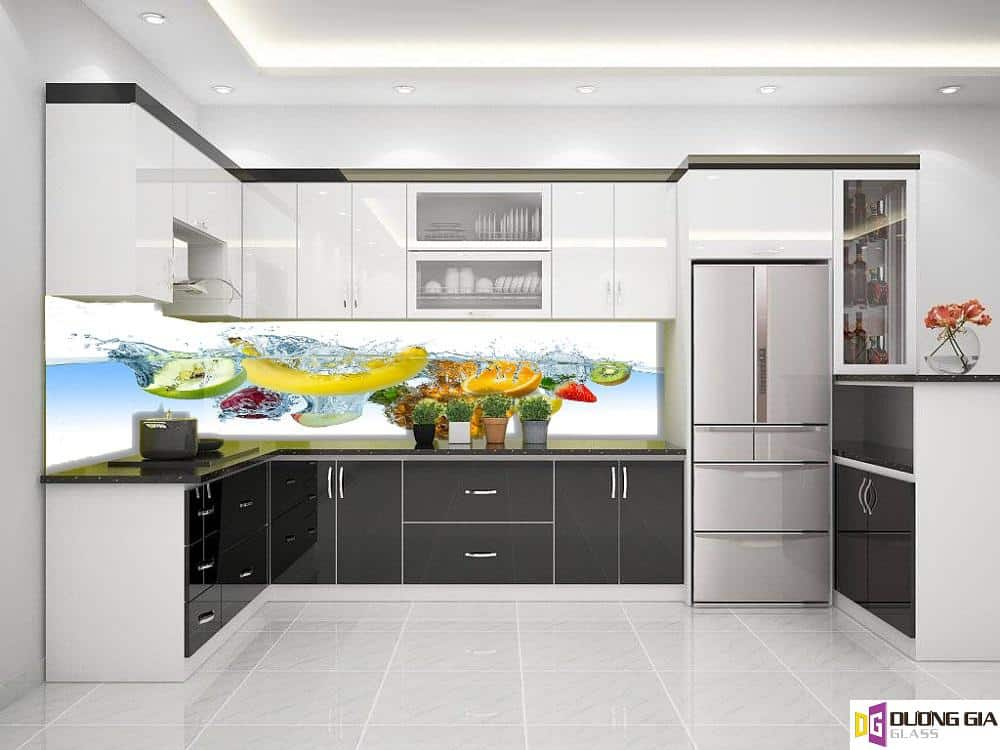 Kính ốp bếp 3D mẫu 15