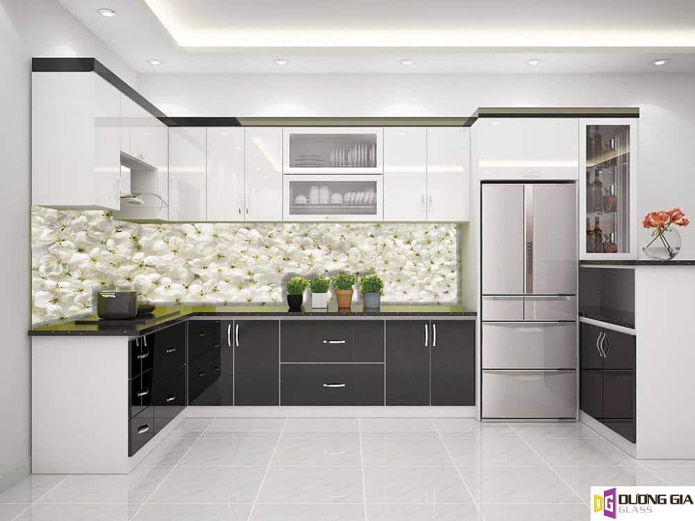 Kính ốp bếp 3D mẫu 17