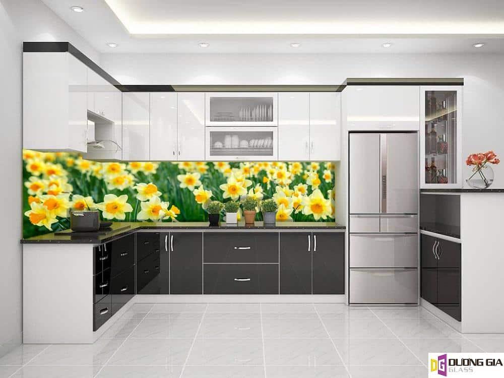 Kính ốp bếp 3D mẫu 19