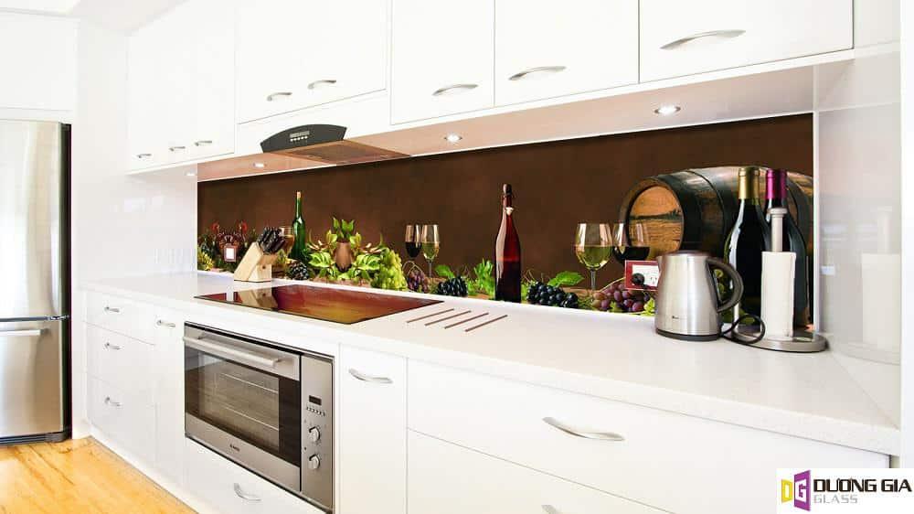 Kính ốp bếp 3D mẫu 2