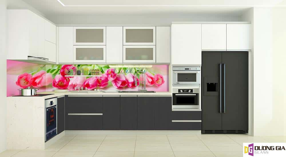 Kính ốp bếp 3D mẫu 22