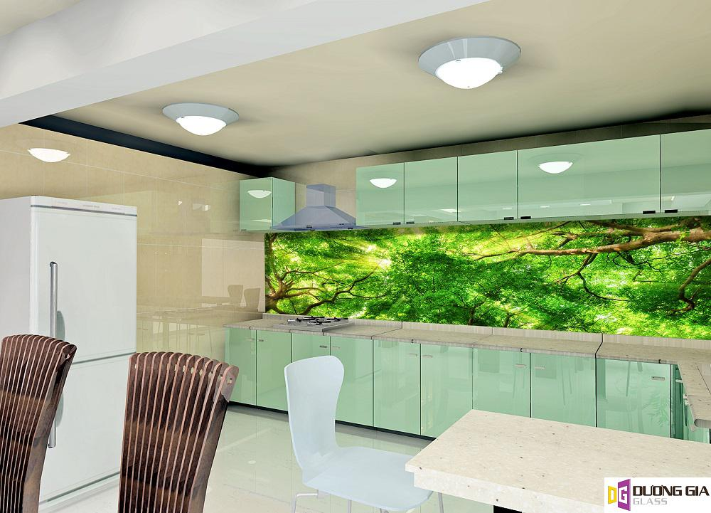 Kính ốp bếp 3D mẫu 25