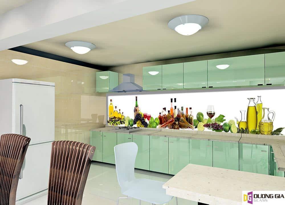 Kính ốp bếp 3D mẫu 3