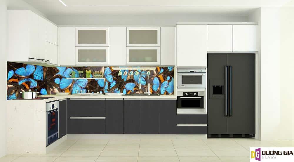 Kính ốp bếp 3D mẫu 34