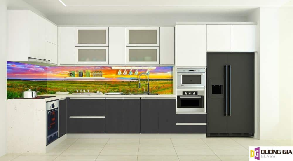 Kính ốp bếp 3D mẫu 37