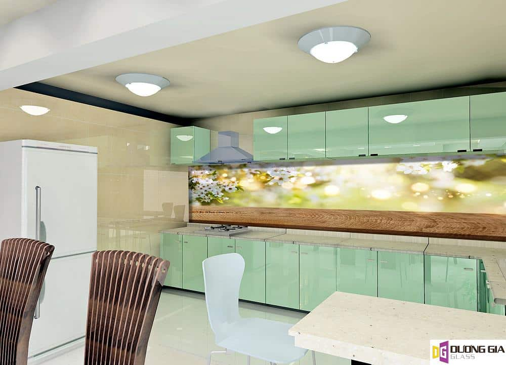 Kính ốp bếp 3D mẫu 42