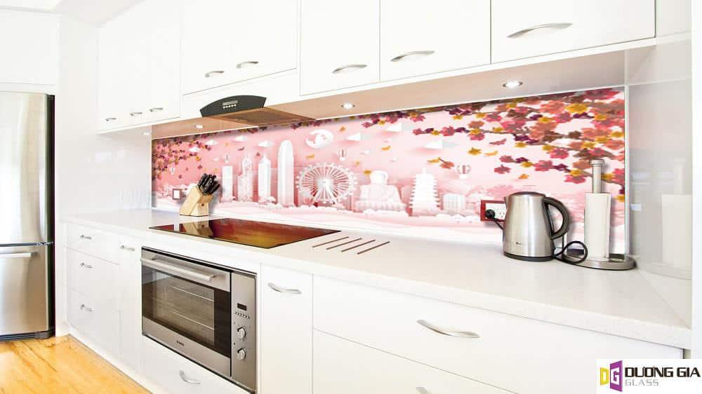 Kính ốp bếp 3D mẫu 49