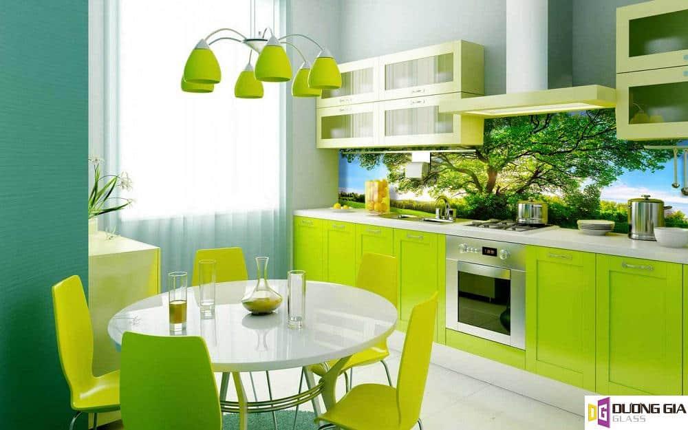 Kính ốp bếp 3D mẫu 60