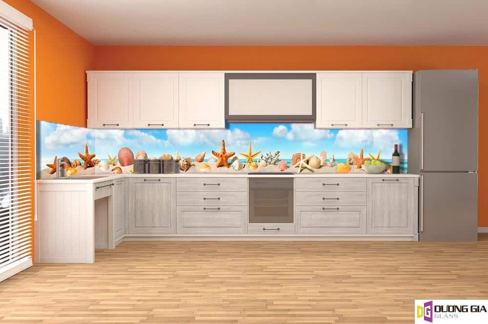 Kính ốp bếp 3D mẫu 64