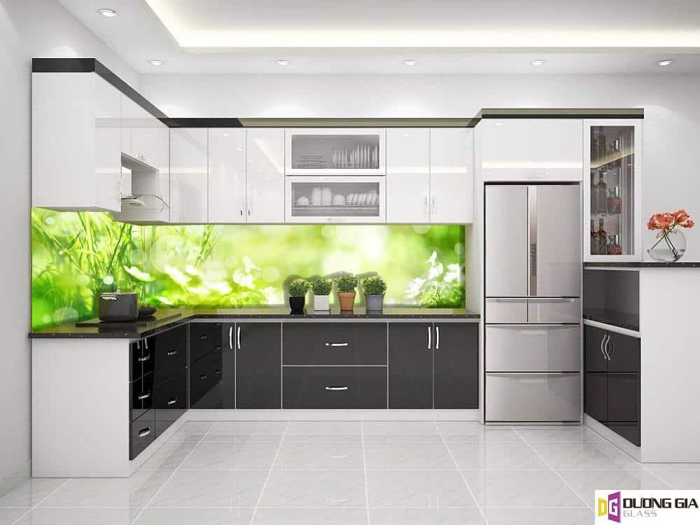 Kính ốp bếp 3D mẫu 68