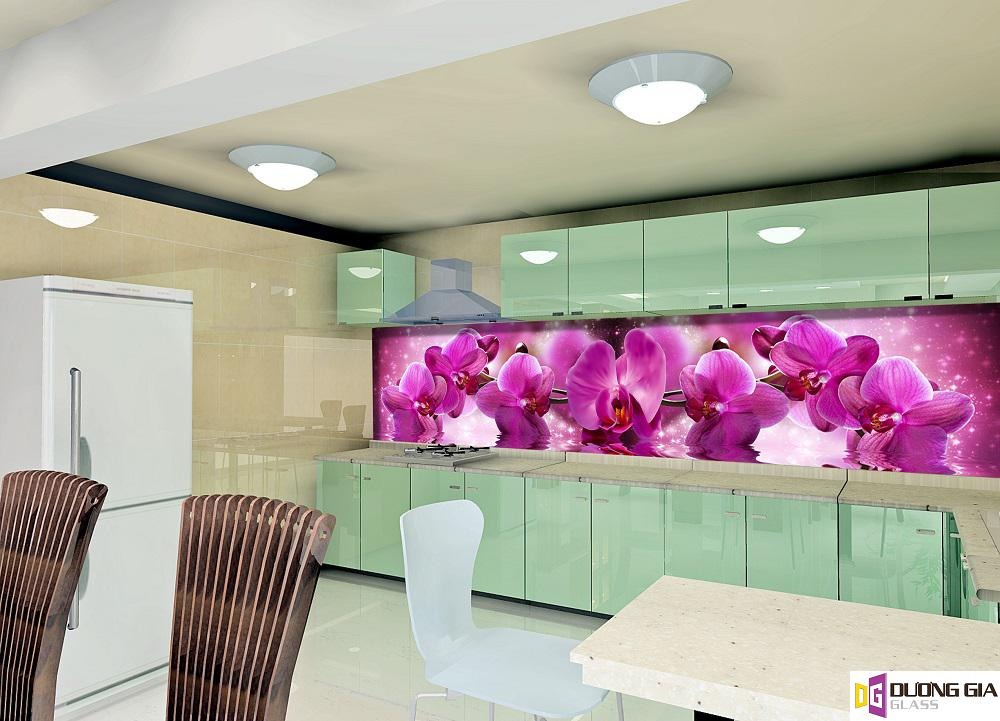Kính ốp bếp 3D mẫu 7