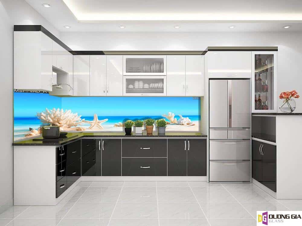 Kính ốp bếp 3D mẫu 75