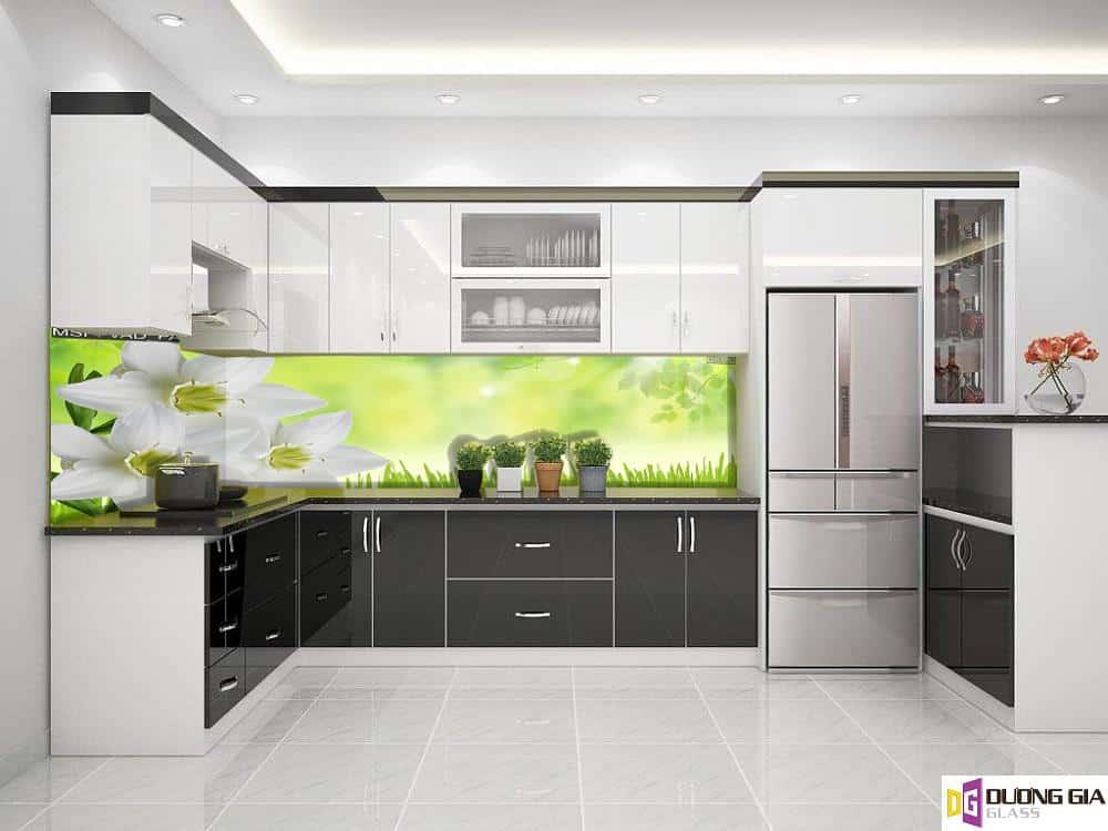 Kính ốp bếp 3D mẫu 76