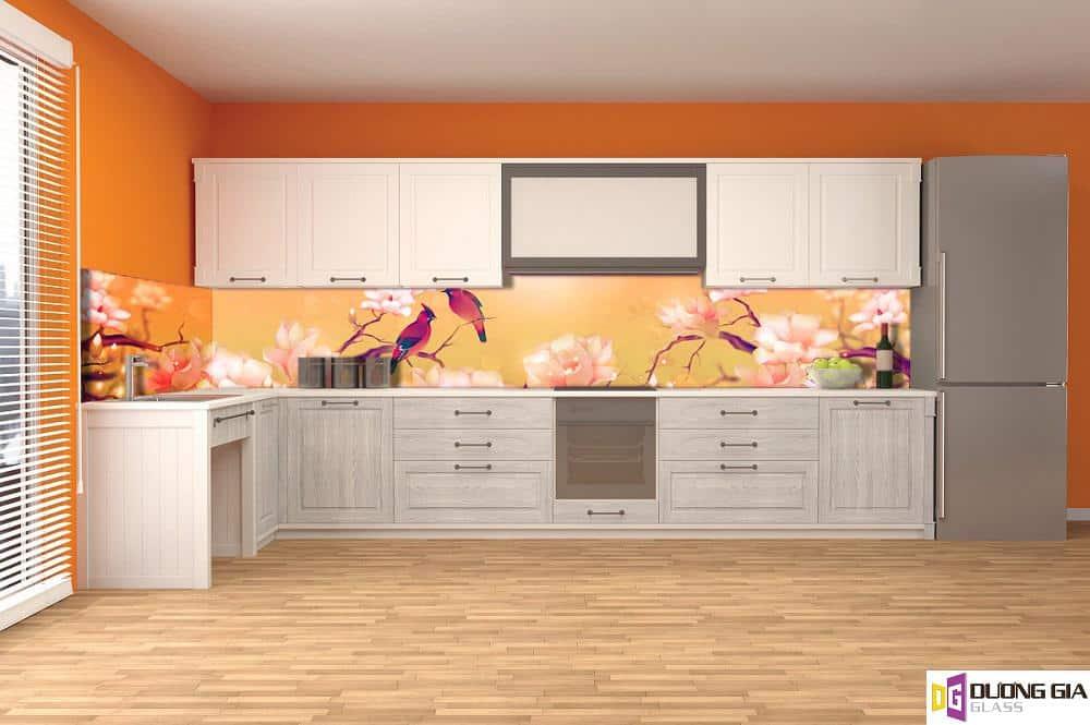 Kính ốp bếp 3D mẫu 8