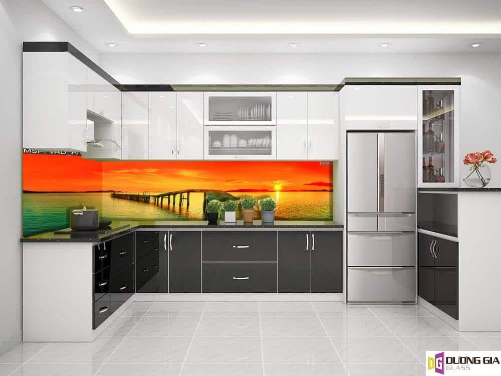 Kính ốp bếp 3D mẫu 86