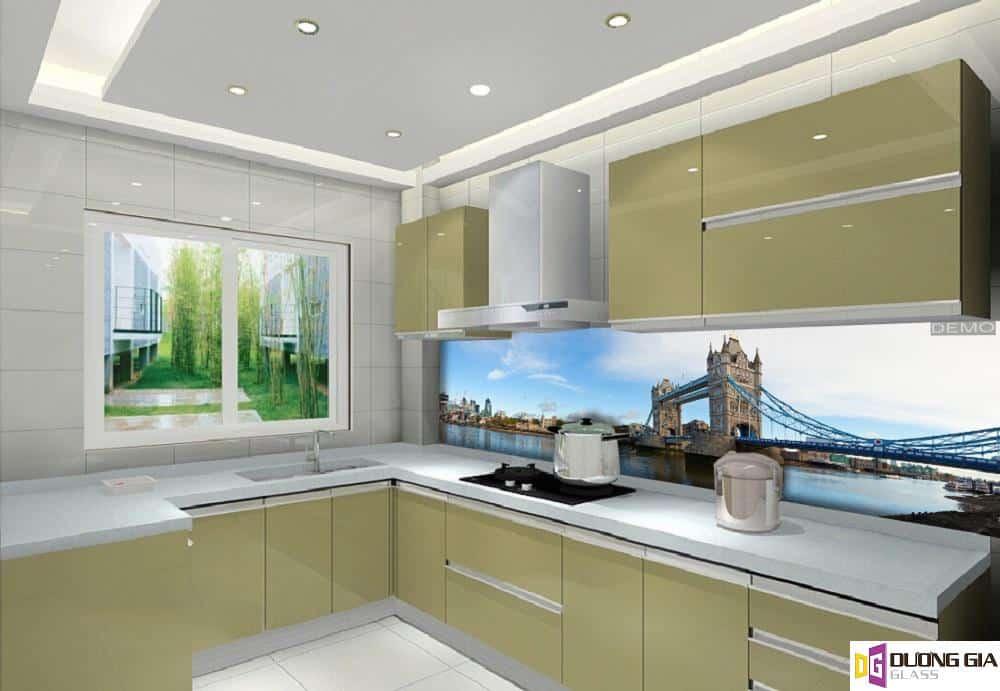 Kính ốp bếp 3D mẫu 88