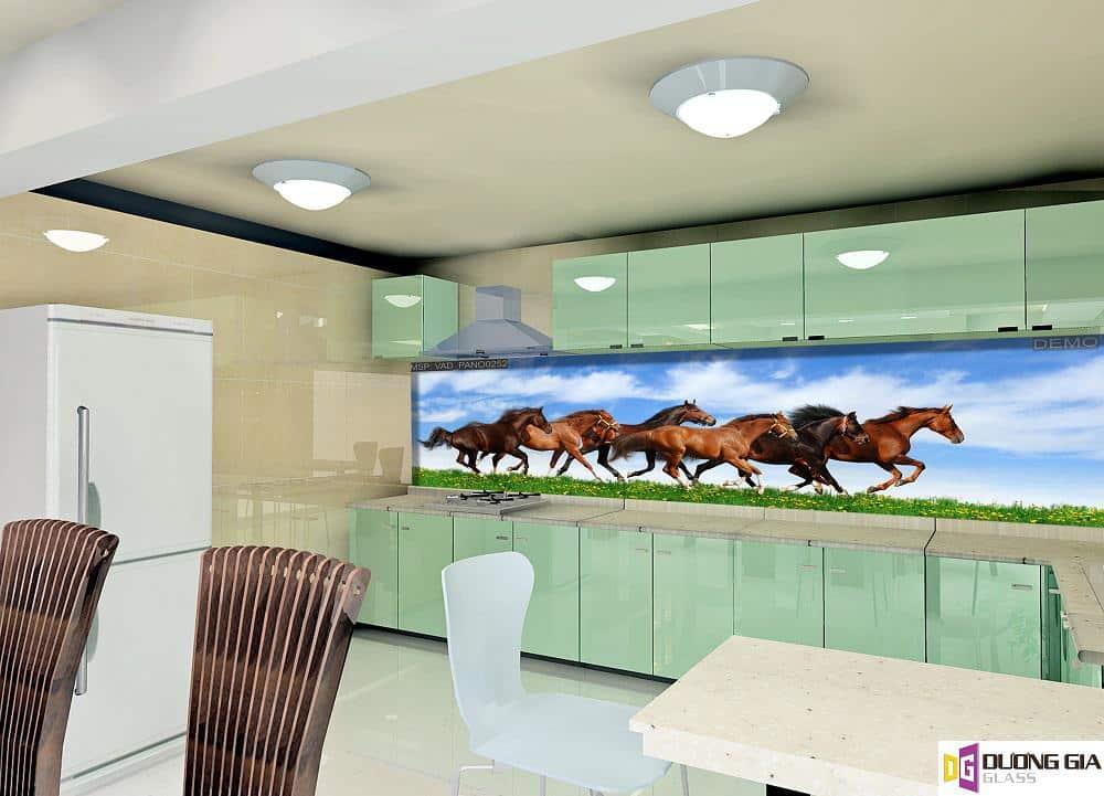 Kính ốp bếp 3D mẫu 90