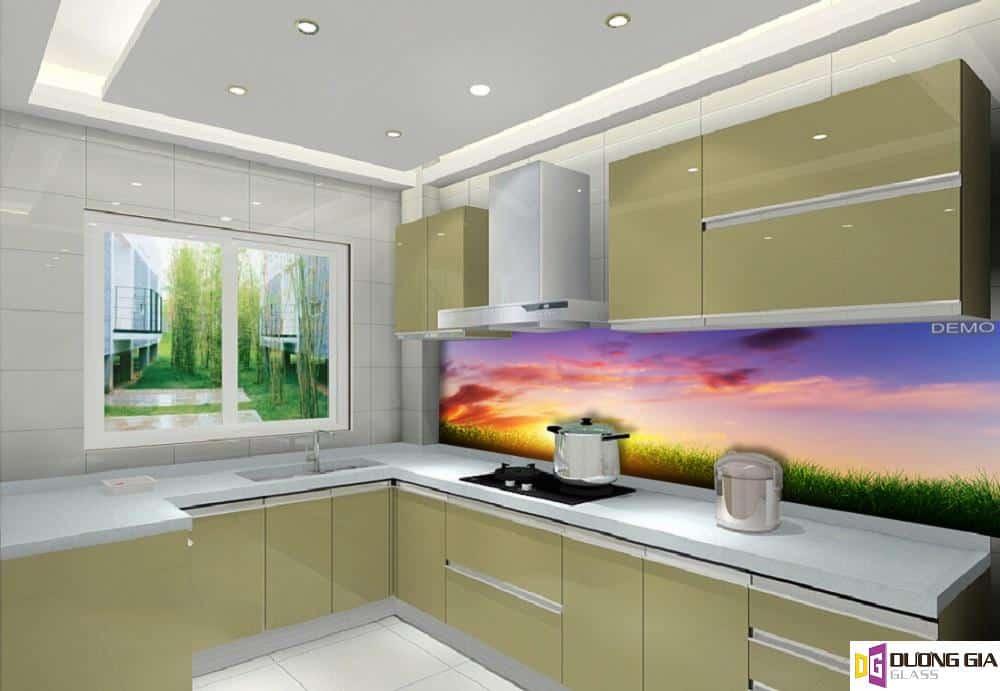Kính ốp bếp 3D mẫu 91