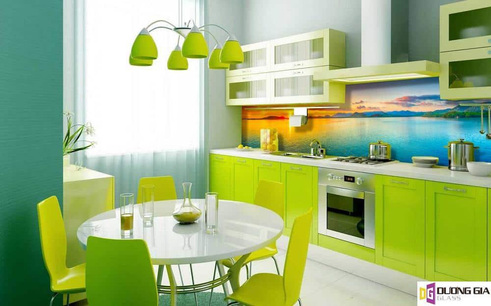 Kính ốp bếp 3D mẫu 97