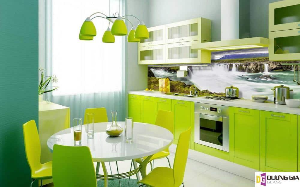 Kính ốp bếp 3D mẫu 99