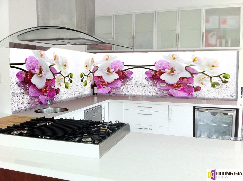 Kính ốp bếp hoa văn mẫu 38