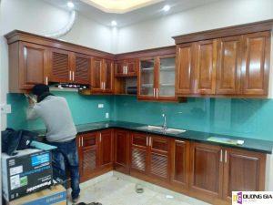 Lắp đặt kính ốp bếp tại Quận Hoàn Kiếm, Hà Nội
