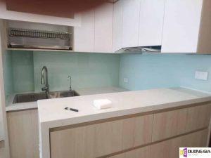 Lắp đặt kính ốp bếp tại Quận Tây Hồ, Hà Nội