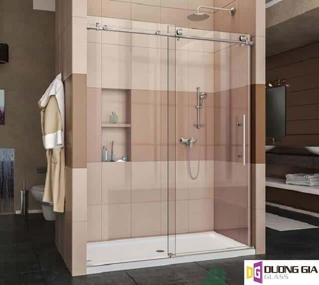 Mẫu cabin phòng tắm kính