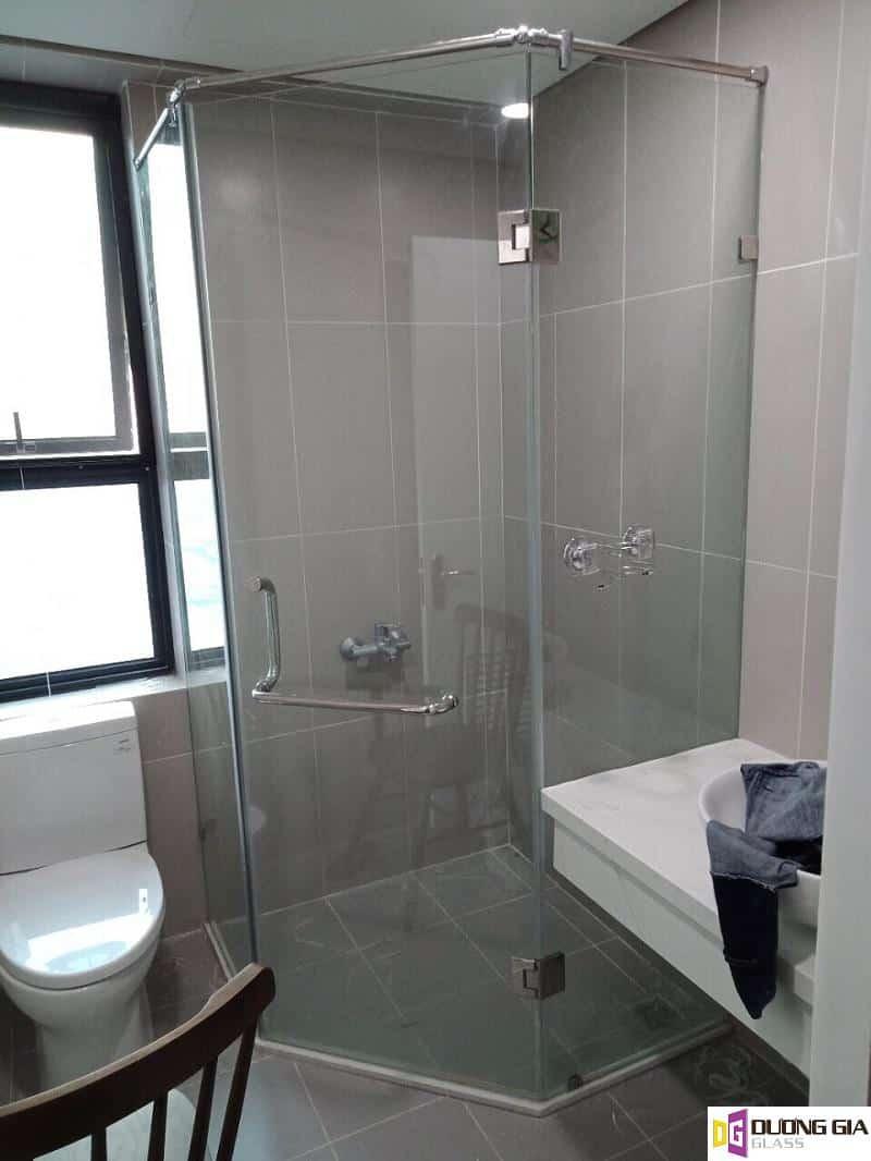 Mẫu cabin phòng tắm kính mẫu 14