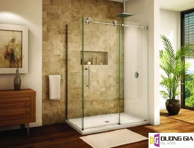 Mẫu cabin phòng tắm kính mẫu 4