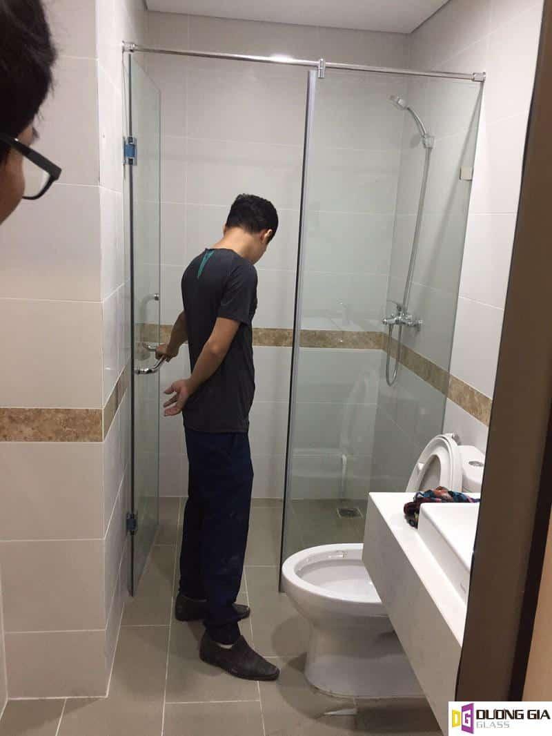 Mẫu cabin phòng tắm kính mẫu 7