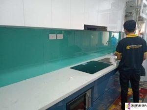 Lắp đặt kính ốp bếp tại TP Hồ Chí Minh
